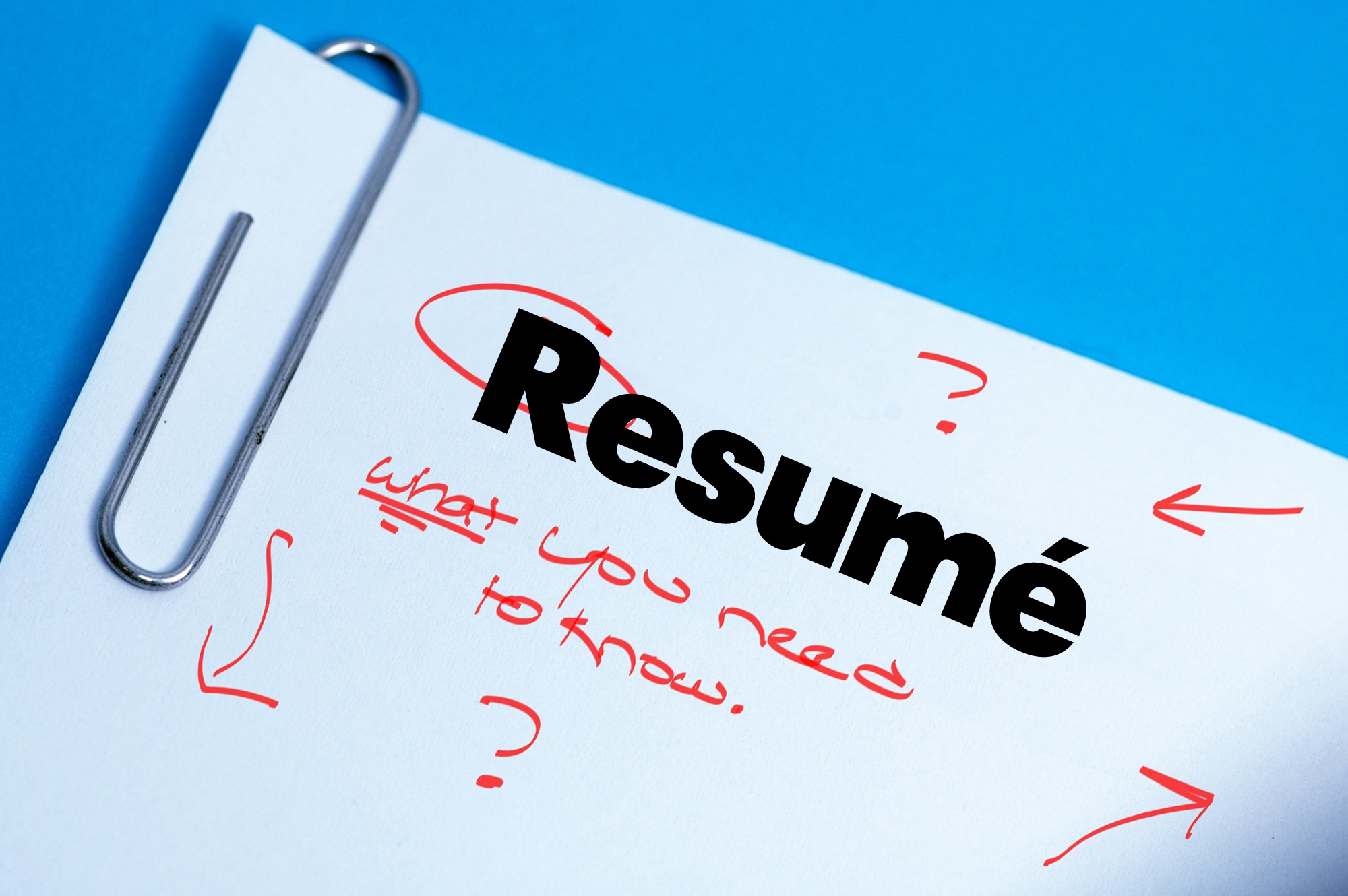 The Resumé Of Your Dreams: What You Need To Know To Make Your C.V. ...