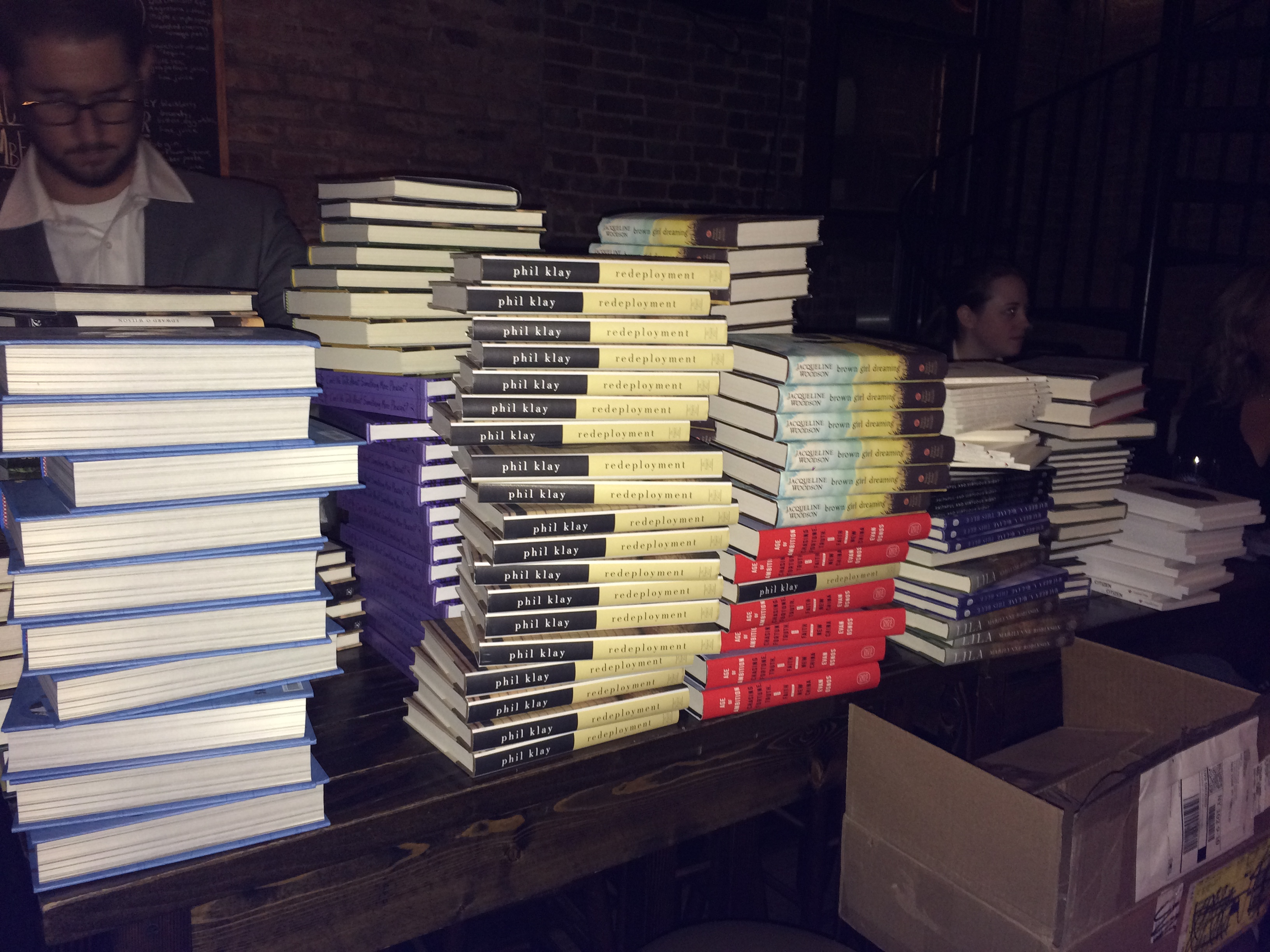 Books at the 2014 NBA Happy Hour!