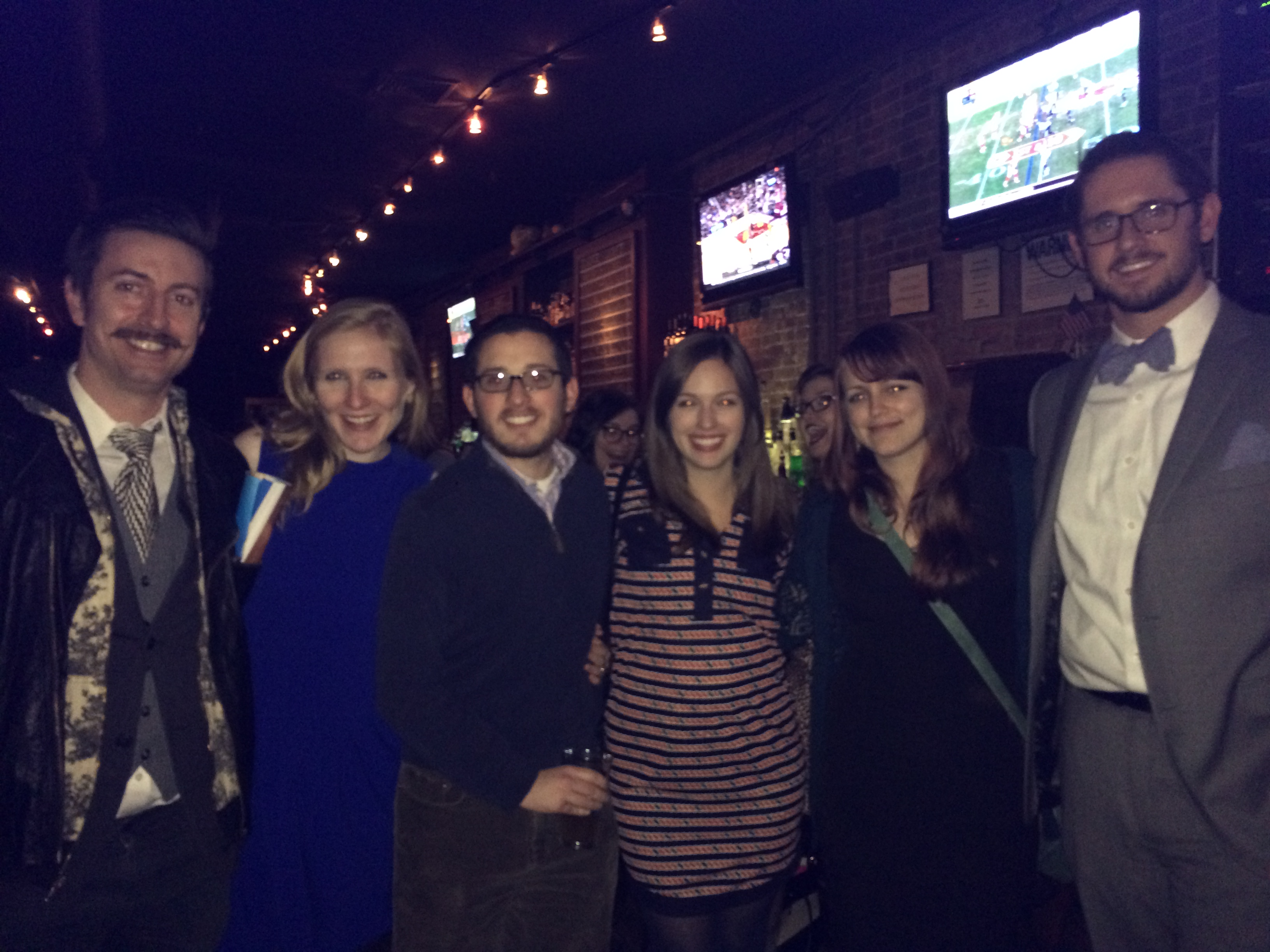 Planning Committee members at the 2014 NBA Happy Hour