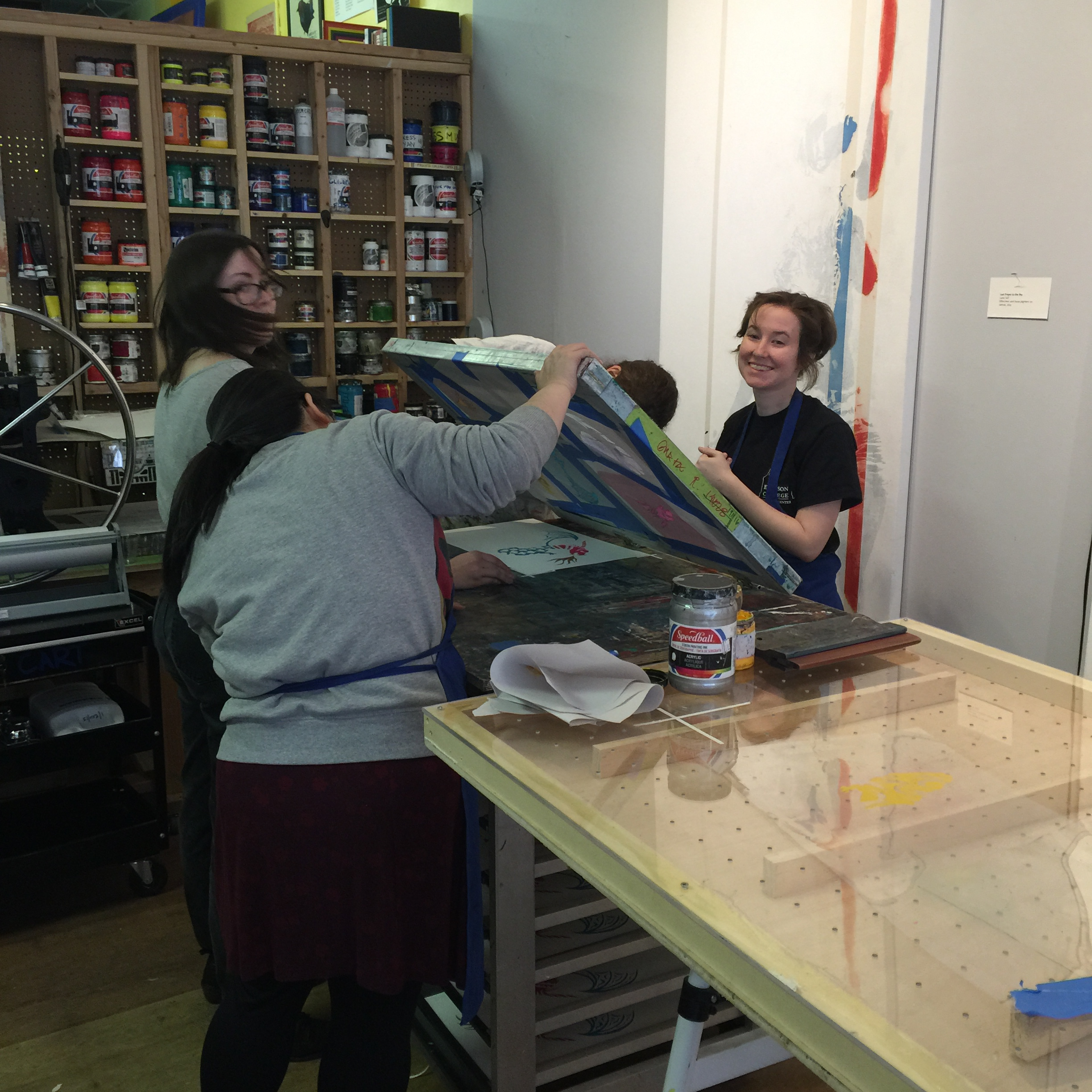 YPG Does Literary Screen Printing!