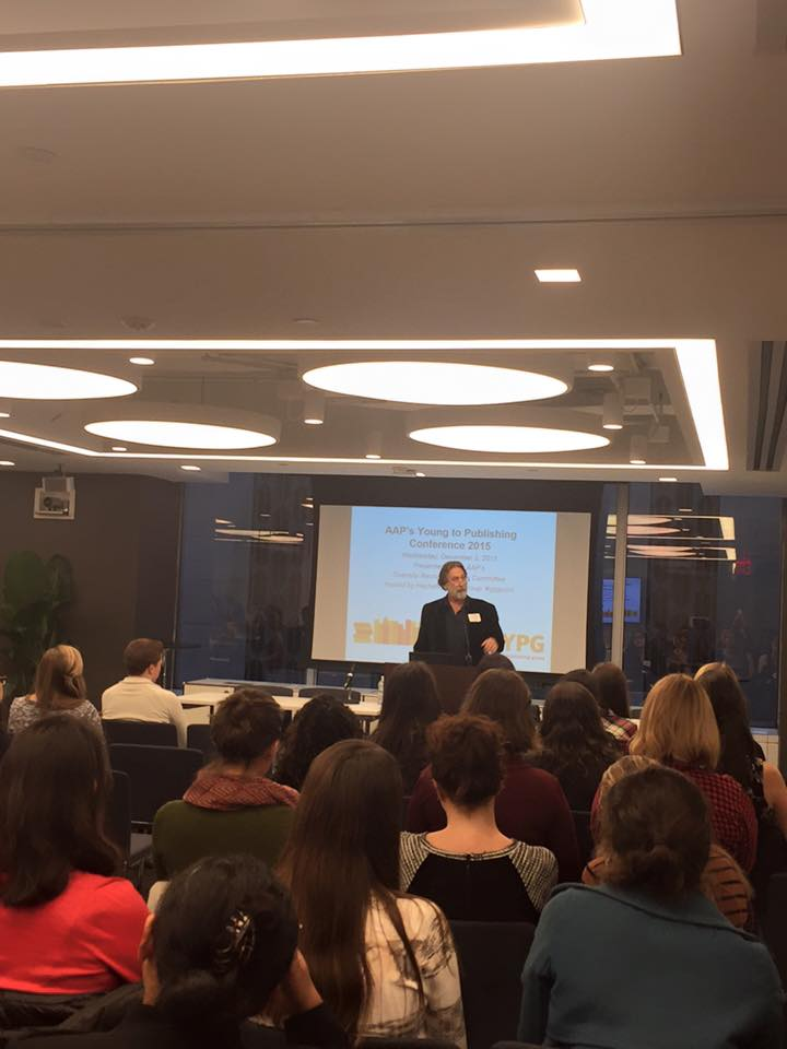 AAP General Counsel Allan Adler at 2015's YPG Conference