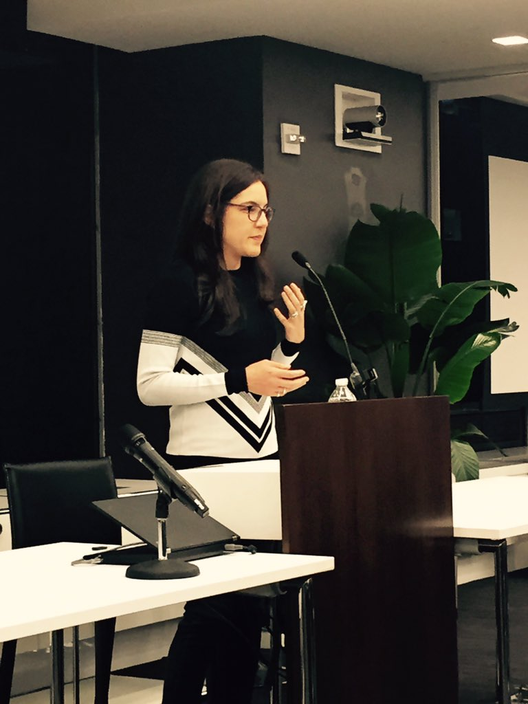 Keynote speaker Sloane Crosley at 2015's YPG Conference