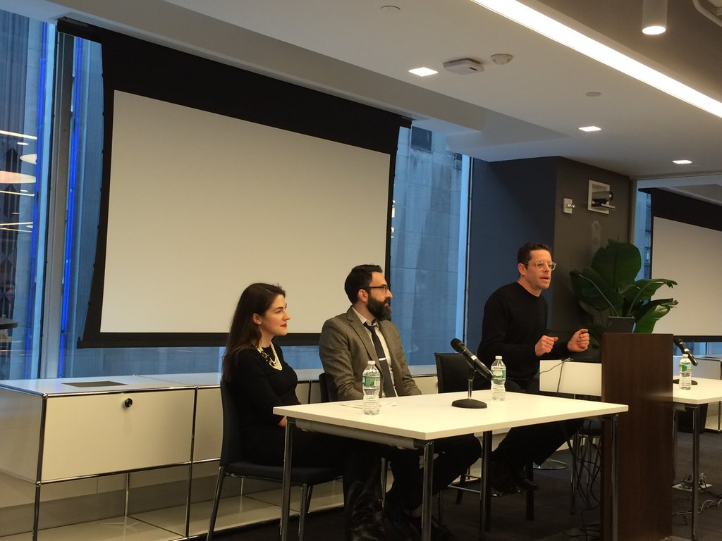 PEN American/Free Speech panel at 2015's YPG Conference