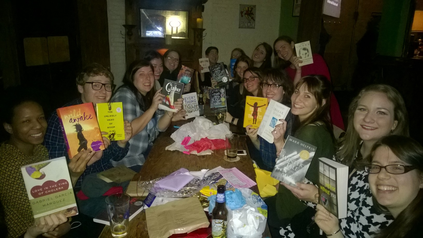 Book Blind Date Group Photo!